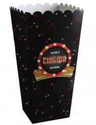 Popcorn-Behälter für Kinoabende Popcorn-Tüte 8 stück 6 x 17 cm