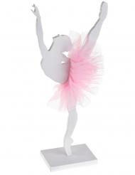 Hübsche Ballerina-Figur aus Holz Deko-Element 17 x 20 cm