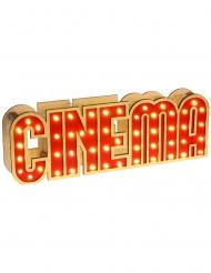 Holz-Schild Cinema Deko-Artikel 30 x 4 x 10 cm