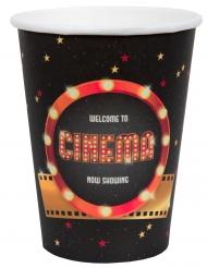 Hollywood-Trinkbecher Tischzubehör 10 Stück bunt 7,8 x 9,7 cm