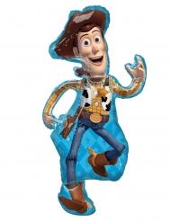 Sheriff Woody™-Aluminiumballon von Toy Story™ bunt 110 x 55 cm
