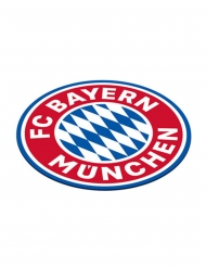 FC Bayern München™ -Getränke-Untersetzer 12 Stück Partyzubehör blau-weiss-rot
