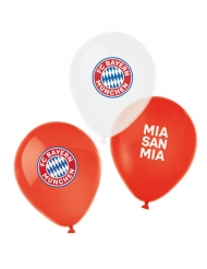 FC Bayern München™ Luftballons 6-teilig rot-weiss-blau 27 cm