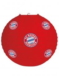 FC Bayern München™ Lampion Partyzubehör rot-weiss-blau 25 cm