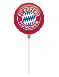 Bayern München™-Ballon Deko-Artikel Fan-Produkt blau-weiss-rot 23 cm
