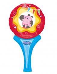 Peppa Wutz™-Folienballon Partyzubehör miss Peppa bunt 15 x 30 cm