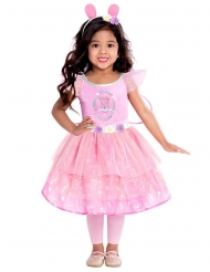 Peppa Wutz™-Prinzessinnen-Kostüm für Mädchen Faschings-Verkleidung rosa