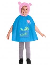 Peppa Wutz™-Kinderkostüm für Fasching blau-rosafarben