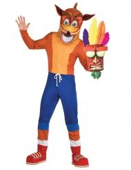 Lizenzartikel Crash Bandicoot™ Kostüm für Erwachsene bunt