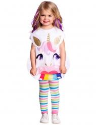 Bezauberndes Einhorn-Kostüm für Kinder Einhorn-Schürze bunt