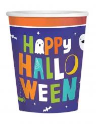 Halloween Friends Party-Trinkbecher für Ihre Festtafel 16 Stück bunt 250 ml