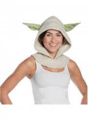 Yoda™-Kapuze für Erwachsene Kostüm-Zubehör beige-grün