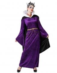 Dunkle Fee-Kostüm für Damen Halloweenkostüm violett-schwarz