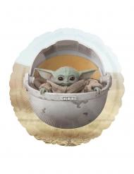 The Mandalorian™-Baby Yoda-Aluminiumballon Deko-Artikel bunt 43 cm