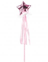 Märchenhafter Feen-Zauberstab für Mädchen Faschings-Accessoire rosa