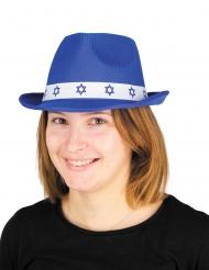 Bar Mitzwah-Hut für Erwachsene blau