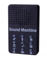 Lustige Soundmaschine Halloween Geräusche schwarz 5 x 8 x 1,5cm