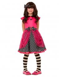 Ladybird Santoro™-Kinderkostüm für Mädchen kleiner Marienkäfer Fasching rot-schwarz
