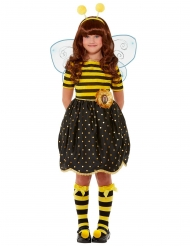 Bee-Loved Santoro™-Mädchenkostüm Bienen-Verkleidung für Fasching schwarz-gelb