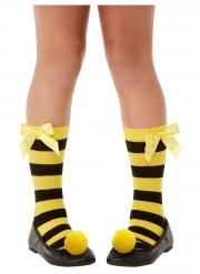 Bee Loved Santoro™ Socken für Mädchen schwarz-gelb
