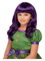 Santoro™-Perücke für Hexen Halloween-Zubehör violett
