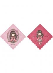 Süße Ladybird Santoro™-Servietten 8 Stück bunt 33 x 33 cm