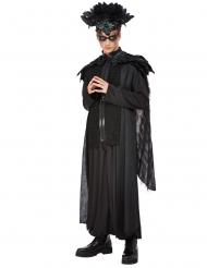 Herscher der Raben Halloween-Kostüm für Herren schwarz