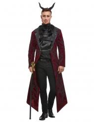 Diabolisches Teufelskostüm für Herren schwarz-rot