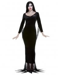 Morticia Lizenzkostüm für Damen Addams Family™ schwarz