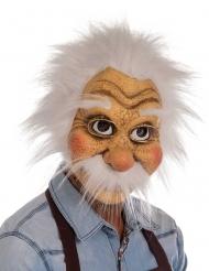 Gepetto™-Maske für Erwachsene Faschings-Zubehör beige-weiss
