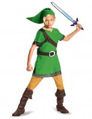 Link™-Kinderkostüm Zelda™-Verkleidung für Fasching Cosplay grün-blau
