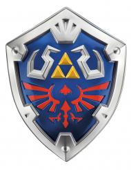 Link™-Schild Accessoire für Kinder Zelda™ Cosplay-Zubehör blau-silber-rot 48 x 38 x 9 cm