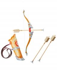 Link™-Spielzeugwaffe für Kinder Pfeil und Bogen Zelda™ Accessoireset 3-teilig braun-gelb