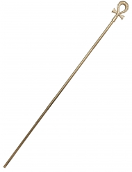 Pharao-Stab Anch Antike-Accessoire gold 168 cm