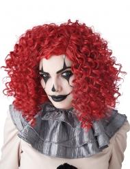 Clown-Perücke für Damen Afro-Perücke lockig rot