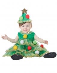 Tannenbaum-Kostüm für Kleinkinder weihnachtliche-Verkleidung grün