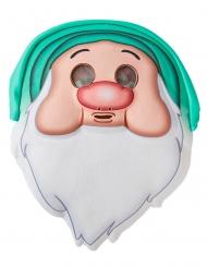 Schlafmütze™-Zwergenmaske Schneewittchen und die 7 Zwerge™ beige-grün-weiss