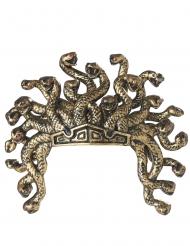 Schlangen-Krone Medusa-Haarschmuck gold