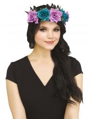 Blumenkranz Haarschmuck für Damen Accessoire bunt