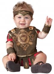 Gladiator-Babykostüm antike-Verkleidung für Kleinkinder braun-rot