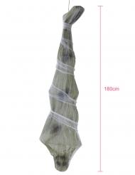 Mumien-Deko für Halloween Hängedekoration beigefarben 180 cm
