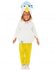 Jemima Puddle Duck™- Peter Hase-Entenkostüm für Kinder weiss-gelb-blau
