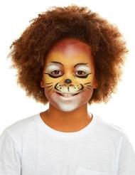 Majestätischer Löwe Schmink- und Zubehörset für Kinder bunt