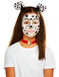 Dalmatiner-Schminkset für Kinder mit Accessoires bunt