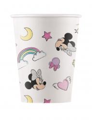 Minnie und das Einhorn™ Party-Pappbecher 8 Stück bunt 200 ml