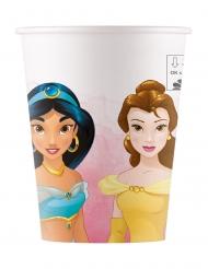 Disney™-Pappbecher Prinzessin 8 Stück Tischzubehör bunt 200 ml
