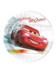 Tolle Cars 3™ Pappteller 8 Stück bunt 23 cm