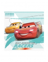 Offizielle Cars 3™-Papierservietten 20 Stück bunt 33 x 33 cm