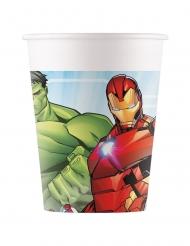Mächtige Avengers Mighty™ Pappbecher 8 Stück bunt 200 ml