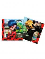 Ladybug™-Servietten Tischdekoration 20 Stück bunt 33 x 33 cm